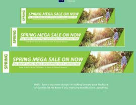 #11 untuk Spring Sale Banner Required For Website. oleh GOLDENDESIGNER7