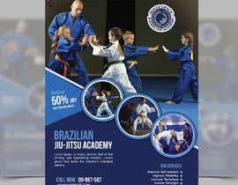 #3 สำหรับ I need a martial arts flyer for a Brazilian jiu-jitsu academy โดย SLP2008