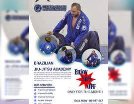 #10 สำหรับ I need a martial arts flyer for a Brazilian jiu-jitsu academy โดย mbelal292