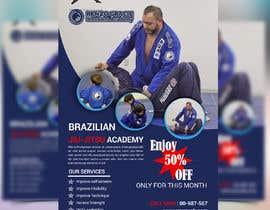 #11 สำหรับ I need a martial arts flyer for a Brazilian jiu-jitsu academy โดย mbelal292