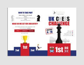 nº 42 pour Flyer and Infographic for Chess Competition par hadeerafarouk