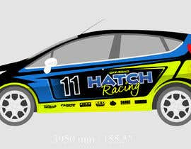 #47 для Rally Car Vehicle Wrap от rozq