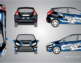 nº 48 pour Rally Car Vehicle Wrap par banduwardhana