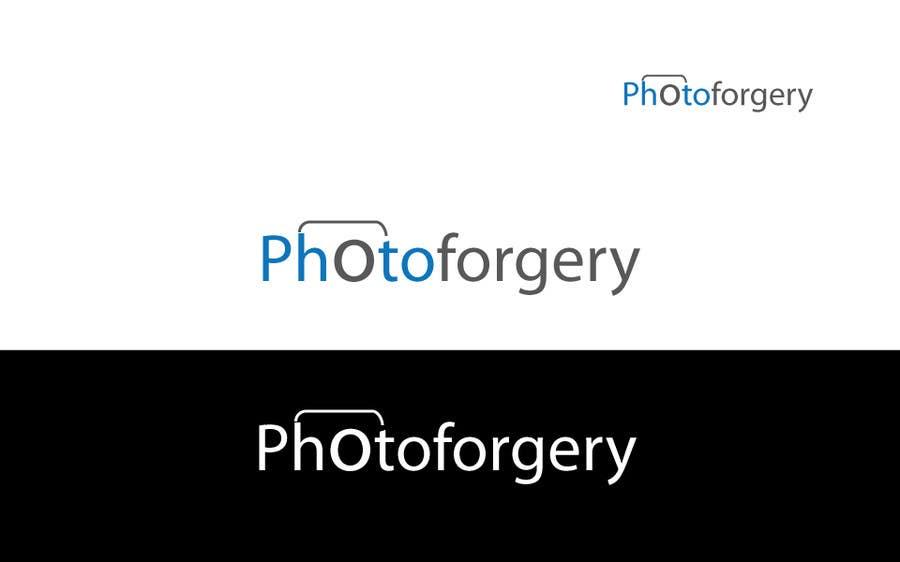 Proposition n°12 du concours Logo Design for photoforgery.com