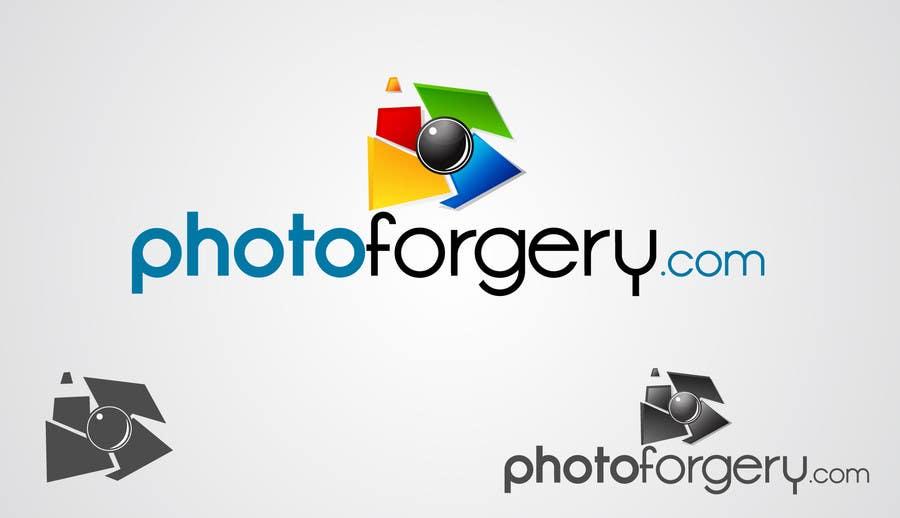 Kilpailutyö #74 kilpailussa Logo Design for photoforgery.com