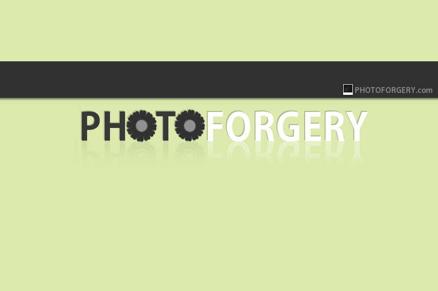 Proposition n°68 du concours Logo Design for photoforgery.com