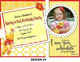 #19 for Birthday Invitation af AfzlDesign