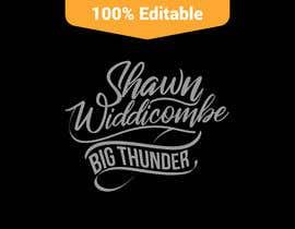 "#4 cho I need a logo designed using my name ""Shawn Widdicombe"" and. ""Big Thunder"" bởi mehedihasan4"