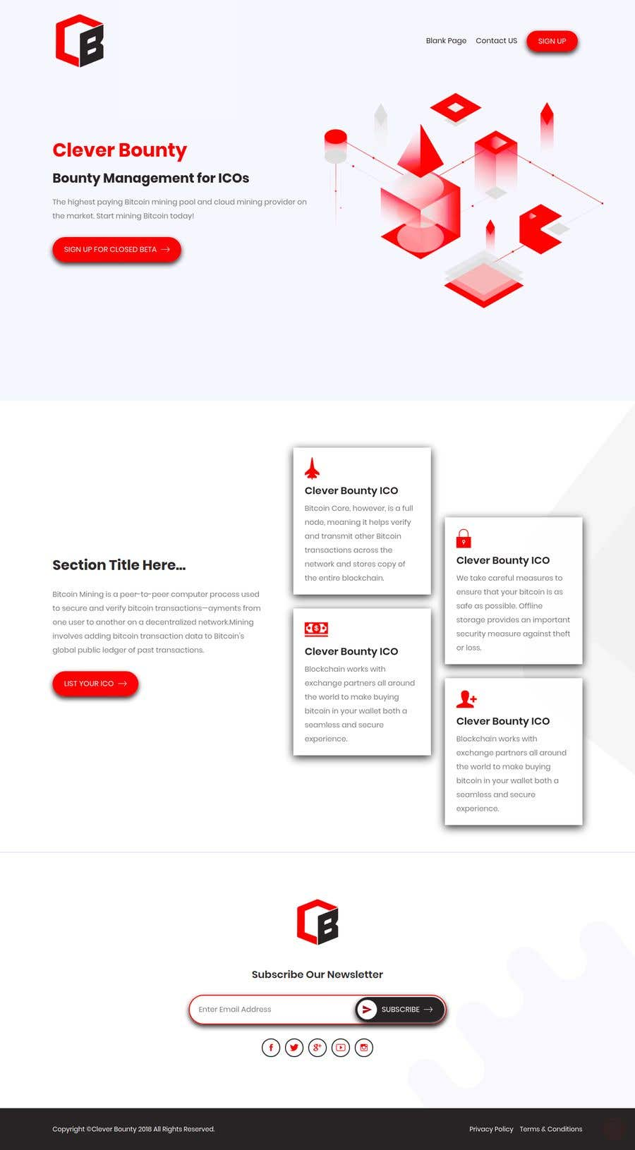 Entry 37 By Shovoncse For Redesign Website Template Extra To