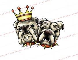#11 for Design my Bulldog Tattoo! af krisamando
