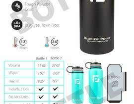 #13 for product Infograph for a water bottle by Badraddauza