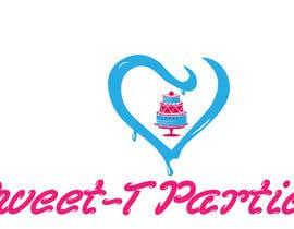 #20 untuk Create a logo for my kids party business. ( Sweet-T Parties ) oleh darkavdark