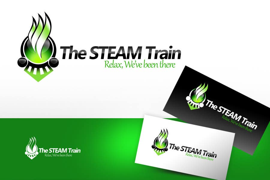 Contest Entry #217 for Logo Design for, THE STEAM TRAIN. Relax, we've been there