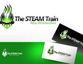 #217 dla Logo Design for, THE STEAM TRAIN. Relax, we've been there przez twindesigner