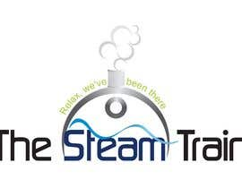 #209 untuk Logo Design for, THE STEAM TRAIN. Relax, we've been there oleh ulogo