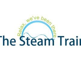 #169 dla Logo Design for, THE STEAM TRAIN. Relax, we've been there przez ulogo