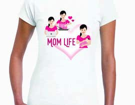 "#14 para Design a line of ""Mom Life"" screen printed tees and apparel for a women's clothing boutique. por poojapatil474"