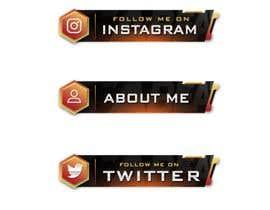 #37 para Design some banner icons for Twitch.Tv por yku5952b9484c125