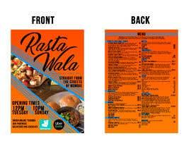 Nro 15 kilpailuun Create a double sided full colour A5 takeout food menu. käyttäjältä andjelakast