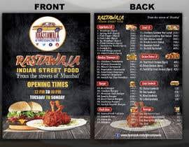 Nro 5 kilpailuun Create a double sided full colour A5 takeout food menu. käyttäjältä parvezraton