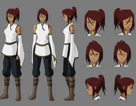 Nro 16 kilpailuun Experienced, illustrator needed for 2D Character turnaround + Expression sheet käyttäjältä werenwow