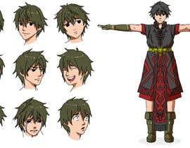 Nro 18 kilpailuun Experienced, illustrator needed for 2D Character turnaround + Expression sheet käyttäjältä berragzakariae