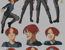 Nro 45 kilpailuun Experienced, illustrator needed for 2D Character turnaround + Expression sheet käyttäjältä kovatz