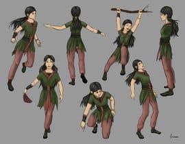 Nro 48 kilpailuun Experienced, illustrator needed for 2D Character turnaround + Expression sheet käyttäjältä carmenciobotaru