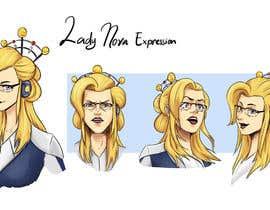 Nro 24 kilpailuun Experienced, illustrator needed for 2D Character turnaround + Expression sheet käyttäjältä wahyous