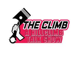 """#1 for The show is called """"The Climb"""" A Hillclimb Talk Show"""". —— the climb on top line— hillclimb talk show on the bottom —- back ground a motorcycle tire af vectordesign99"""