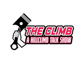 """#5 for The show is called """"The Climb"""" A Hillclimb Talk Show"""". —— the climb on top line— hillclimb talk show on the bottom —- back ground a motorcycle tire af vectordesign99"""
