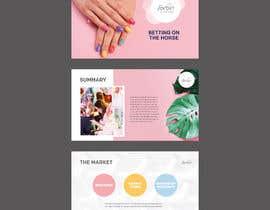 #22 для Design a Powerpoint template for a nail bar franchise presentation от Swaksart