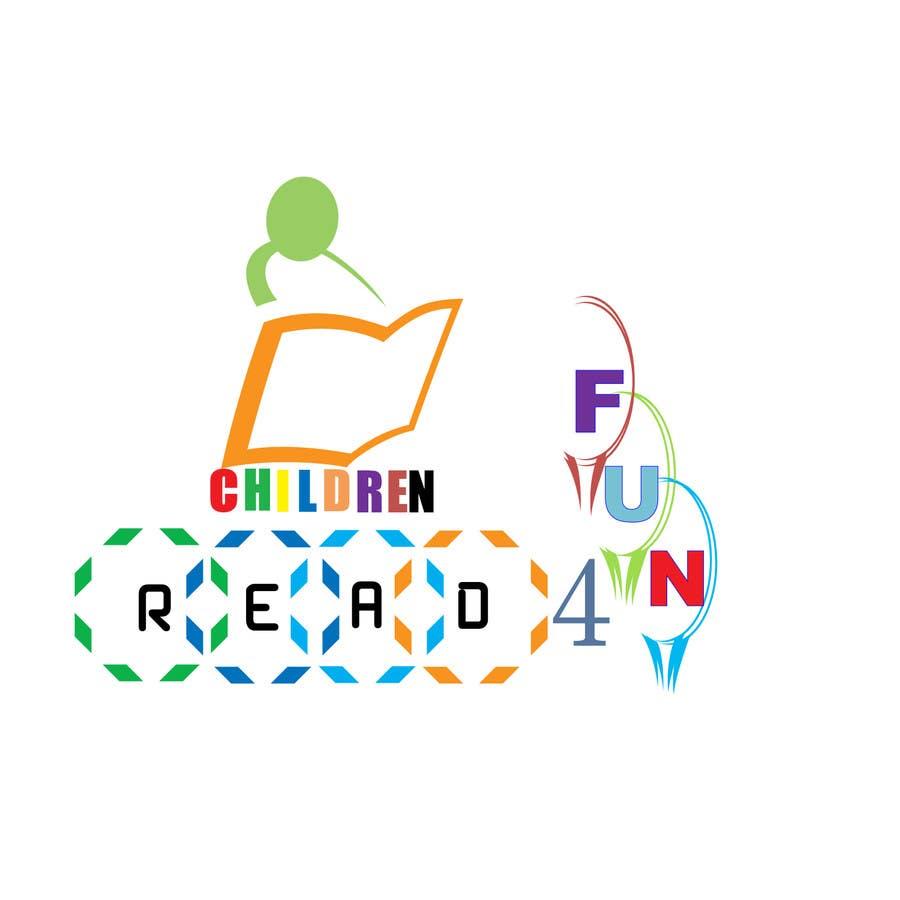 Kilpailutyö #84 kilpailussa Logo Design for Children Read For Fun