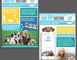 #42 para Design an eye-catching A5 flyer for print to attract dog owners attention de d3stin