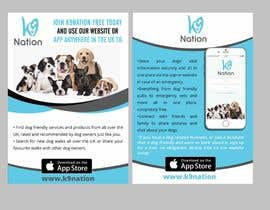 #8 para Design an eye-catching A5 flyer for print to attract dog owners attention de maidang34