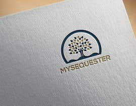 "#69 untuk Logo for small scale carbon offsetting application called ""Myseqester"" oleh alimhossain5251"