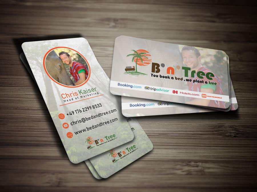 Proposition n°83 du concours New B'n'Tree Business Cards Needed