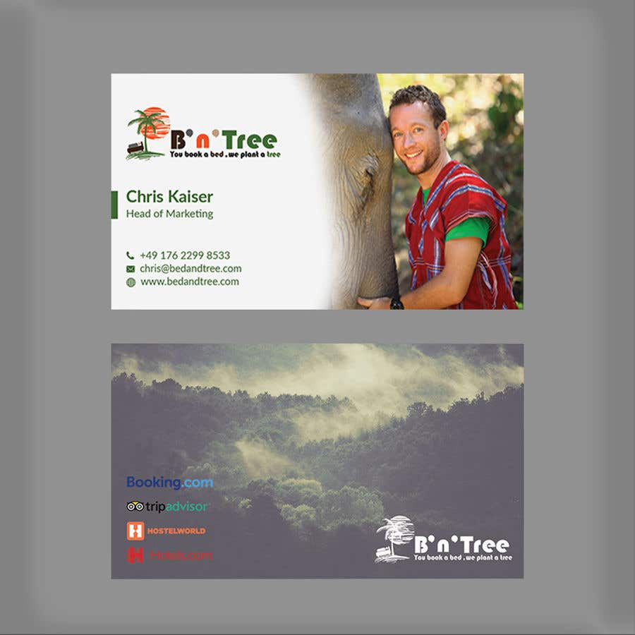 Proposition n°43 du concours New B'n'Tree Business Cards Needed