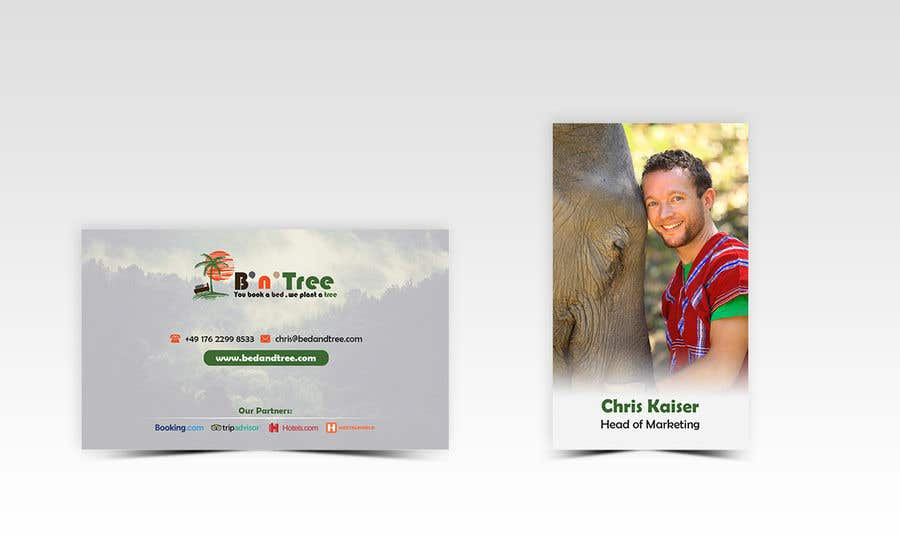 Proposition n°60 du concours New B'n'Tree Business Cards Needed