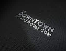 "#14 untuk Need Crisp/Clean Business logo designed for cleint ""The Downtown Board Room"" oleh mamun25g"