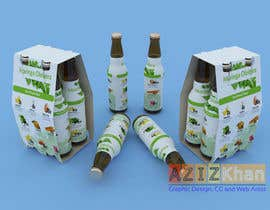 #9 for drink product design about with many background by aziz3d