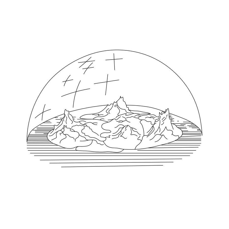 Entry #2 by dorathlmnr for Draw flat earth logo   Freelancer