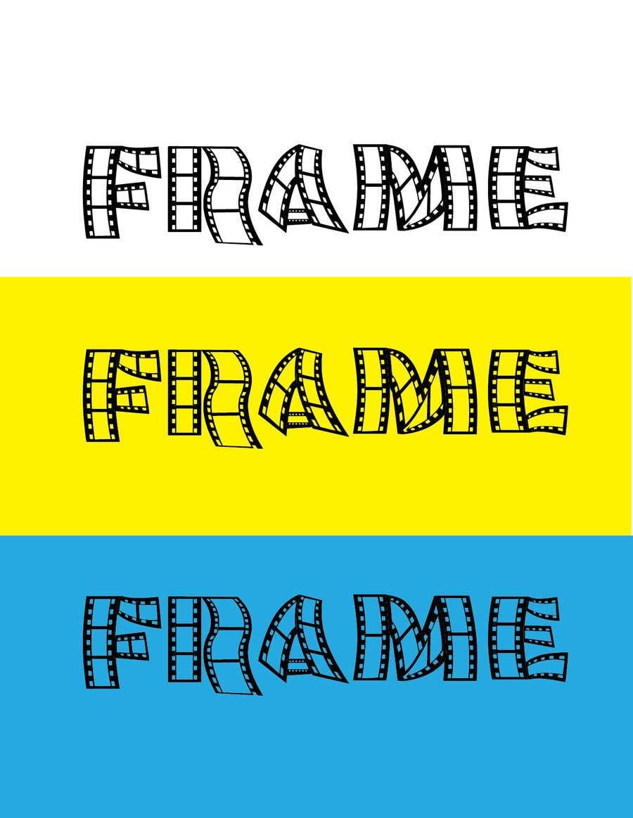 Proposition n°18 du concours create a film strip font