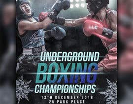 #51 untuk Design a Winter /holidayThemed Fight Poster oleh sairalatief