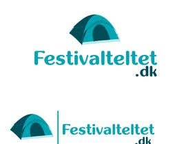 #9 untuk New logo for website selling pop-up tents for festivals. oleh designgale