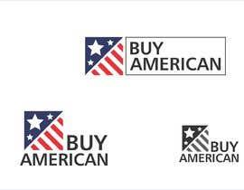 """Nro 249 kilpailuun Design """"Buy American"""" Logo käyttäjältä designmax24"""