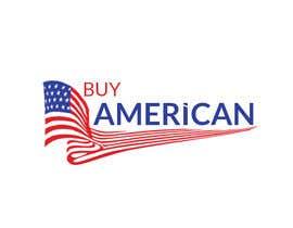"""Nro 213 kilpailuun Design """"Buy American"""" Logo käyttäjältä ABODesign11"""