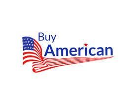"""Nro 214 kilpailuun Design """"Buy American"""" Logo käyttäjältä ABODesign11"""