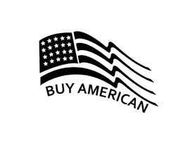 """Nro 218 kilpailuun Design """"Buy American"""" Logo käyttäjältä rifat007r"""