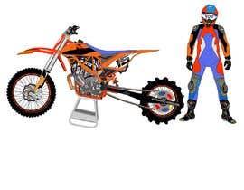 nº 16 pour Cartoon drawing of the orange bike made similar to the green one par letindorko2